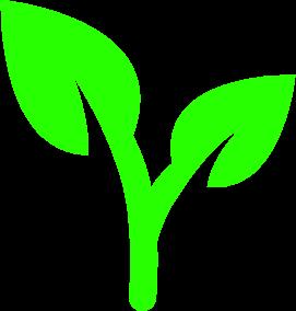 grönt löv för hälsa och kost